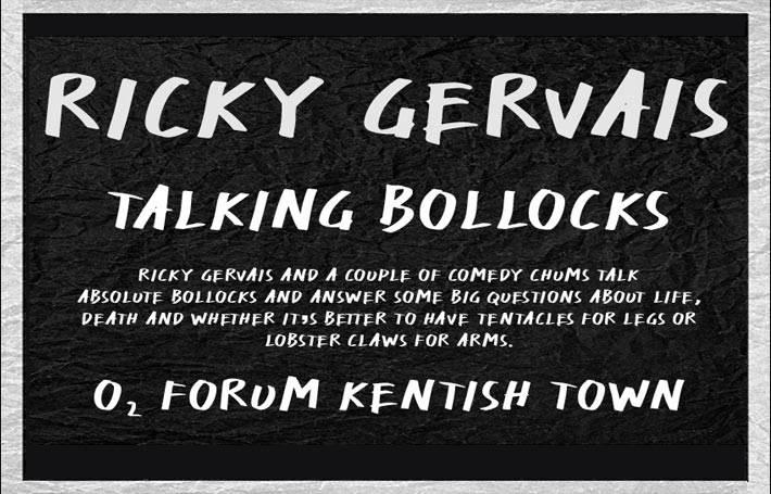 Ricky Gervais Talking Bollocks
